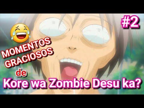Escena graciosa del anime Kore wa zombie desu ka? - Momentos graciosos de Kore wa zombie desu ka? #2