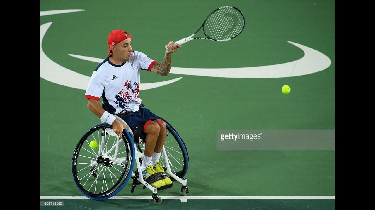 wheelchair quad swing chair kettal tennis alcott v lapthorne men s singles gold rio 2016 paralympic games