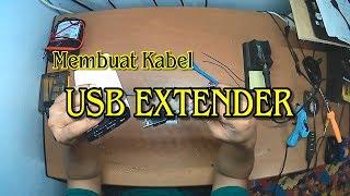Membuat Sendiri kabel USB Extender Sampe 15Meter
