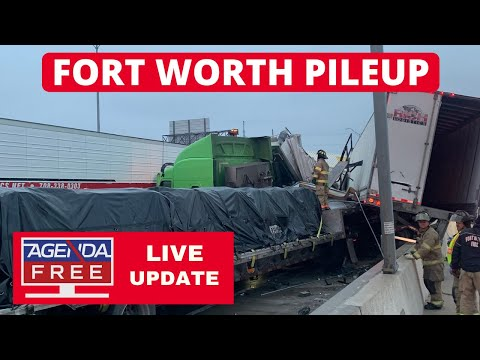 Fort Worth 100+ Vehicle Pileup News Conference - LIVE COVERAGE