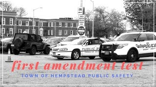 Town of Hempstead Department of Public Safety First Amendment Audit