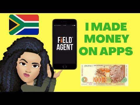 APPS TO MAKE MONEY ONLINE IN SOUTH AFRICA. QUICK AND EASY    FIELD AGENT   How to make money online.