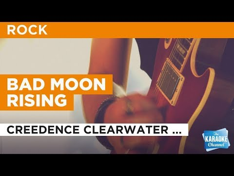 "Bad Moon Rising in the Style of ""Creedence Clearwater Revival"" with lyrics (no lead vocal)"