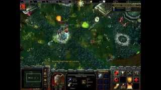 Warcraft 3: Die Hard - Boss 1: [Лародар - Хранитель Рощи/Larodar - The Keeper of the Groove]