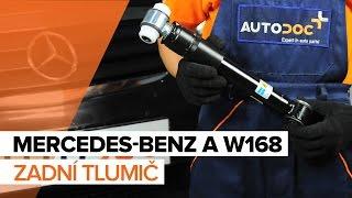 Údržba Mercedes W168 - video tutoriál