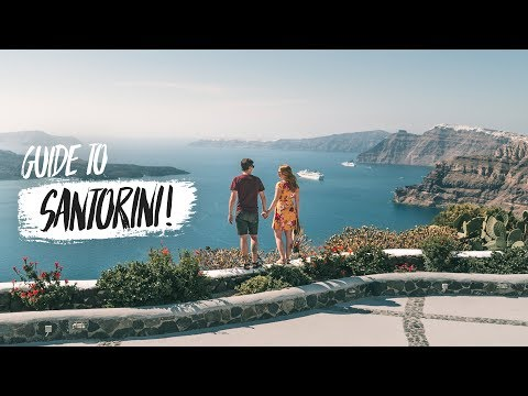 Santorini Travel Guide - Top 8 BEST THINGS You Have to Do on This Island!