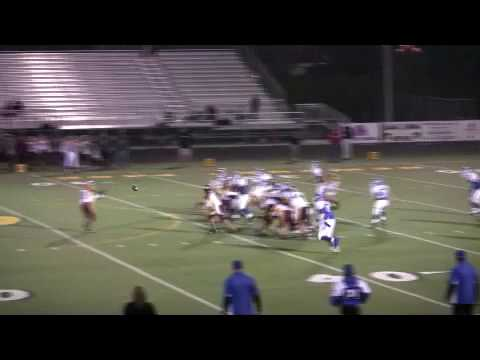 Martin Mijares 12 year old Football Player with 3 big  hits Tackles