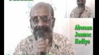 Abwaan Jaamac Kediye iyo gabayga saadaal...