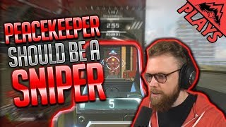 The Peacekeeper SHOULD be a SNIPER! - Apex Legends