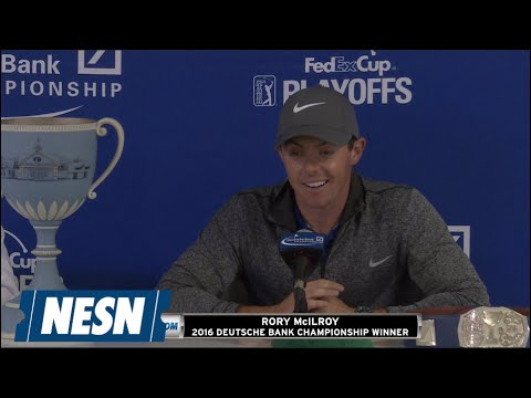 Rory McIlroy Full Press Conference After 2016 Deutsche Bank Championship Win
