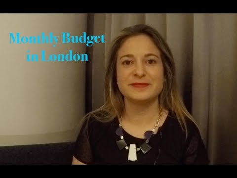 ExpatsEverywhere: Spending Money and Monthly Budget in London
