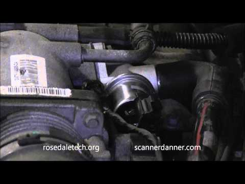 Ford Idle Air Control (IAC) valve test (how to adjust minimum idle speed)