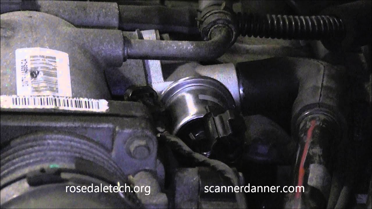 ford idle air control iac valve test how to adjust minimum idle speed  [ 1280 x 720 Pixel ]