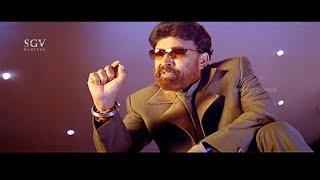 Dr.Vishnuvardhan Super Dynamic Monologue Scene   Kadamba Kannada Movie