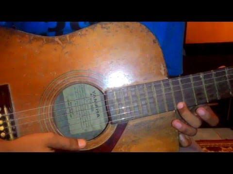 Belajar melodi gitar Sweet Child O'Mine