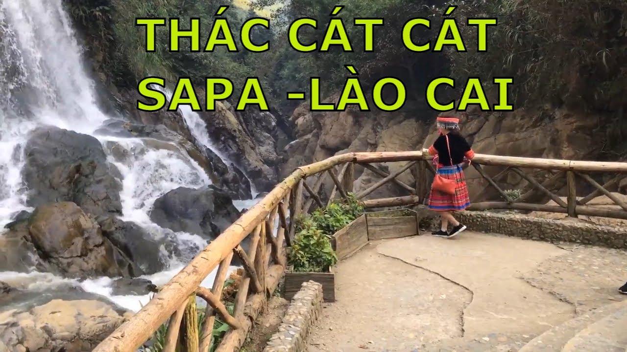 Thác Cát Cát đẹp nhất ở SaPa – Lào Cai=Cùng tôi  du lịch Việt Nam.=62-22645