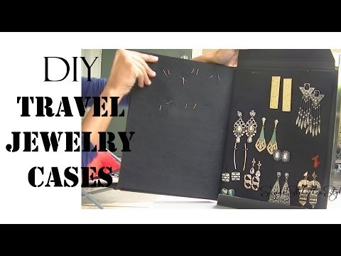 DIY Travel Jewelry Cases - SugarStilettosStyle