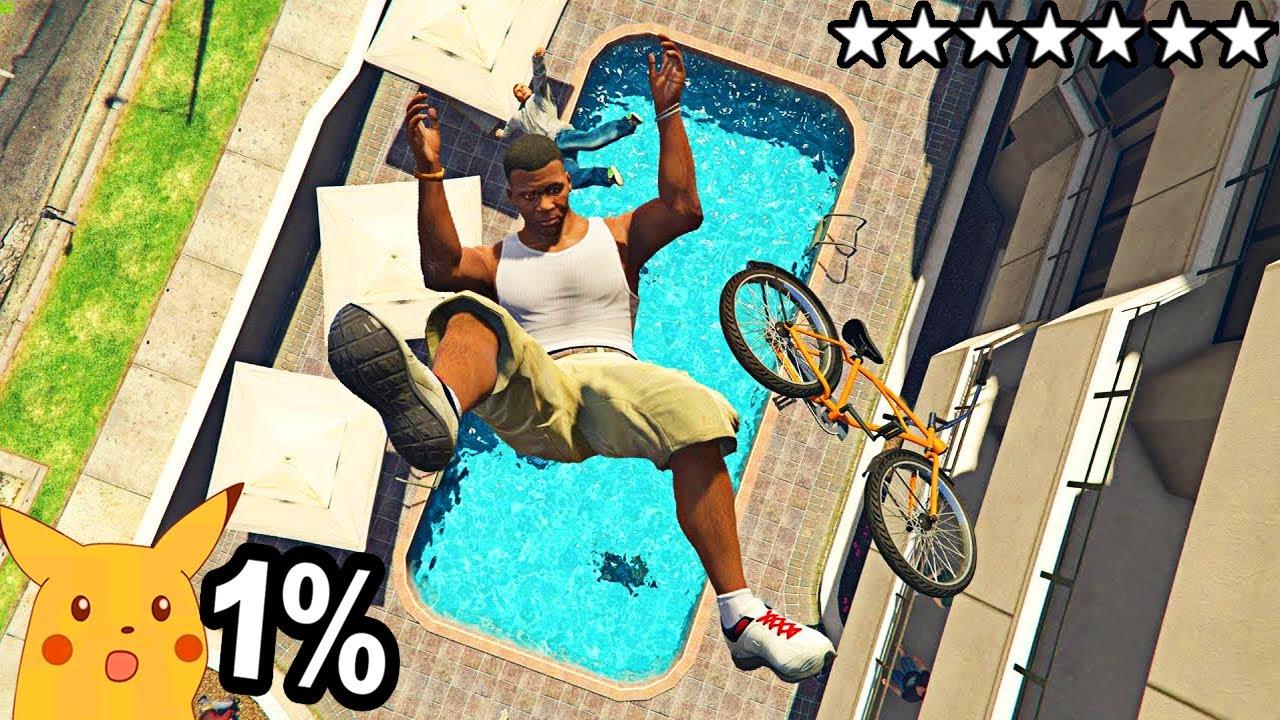 Solo el 1% Logra HACER esto en GTA 5