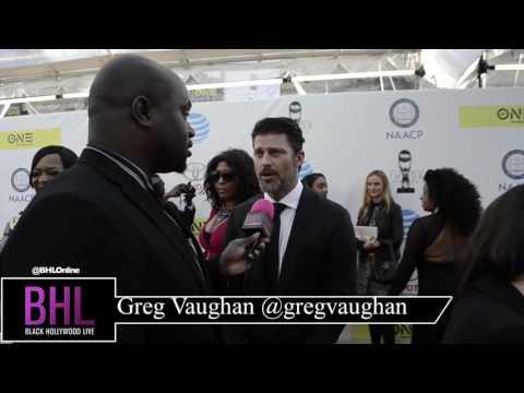 Greg Vaughan at NAACP Awards 2017