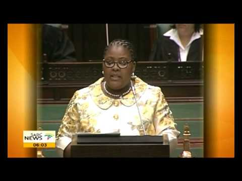 Defence Minister Nosiviwe Mapisa-Nqakula