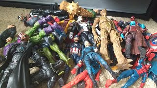 MY FIRST MARVEL LEGENDS FIGURE COLLECTION VIDEO!!!!!!!!!!!!!