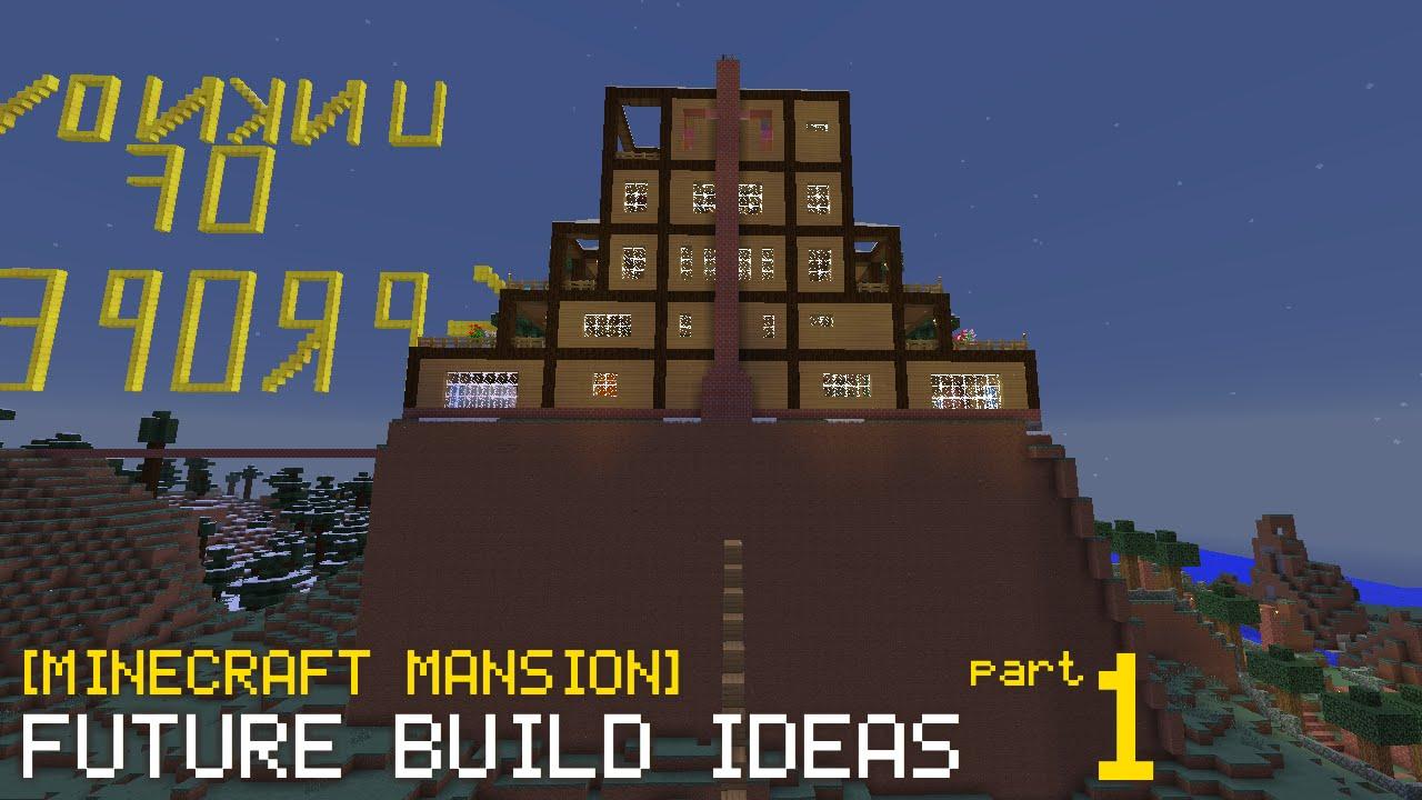 Minecraft Future Build Ideas Basement Part 1