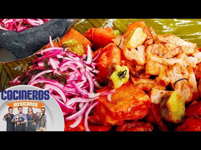 Receta: Cochinita pibil   Cocineros Mexicanos