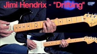 """Jimi Hendrix - """"Drifting"""" - Blues/Rock Guitar Lesson (w/Tabs)"""