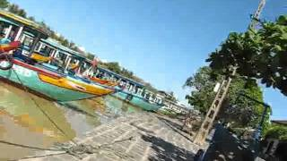 Hoian Bike Tour - Hoian Ferry Boat To Kimbong Village.flv