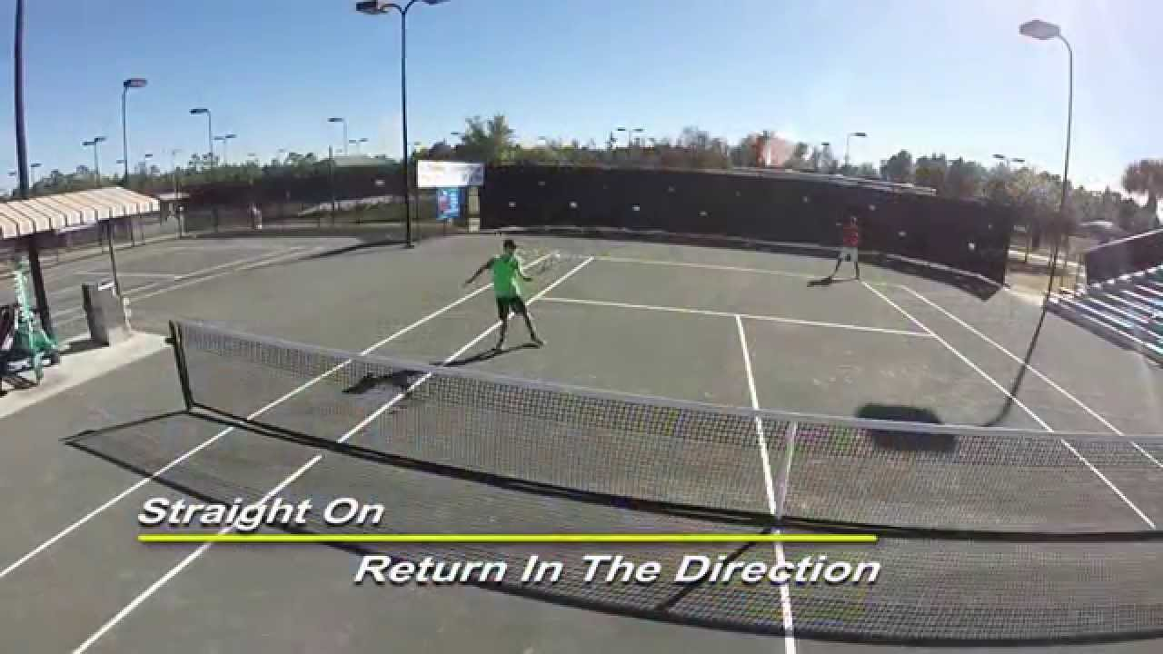USTA Florida Go Pro Tip: Doubles Inside Volley Return ...