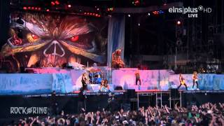 Iron Maiden Live Rock Am Ring 2014 The Number Of The Beast