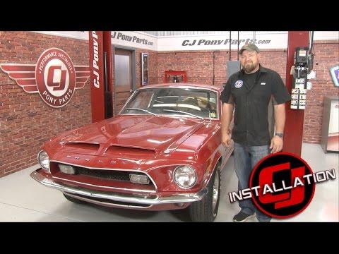 Mustang Power Steering Control Valve Repair Kit 1965-1970 Installation