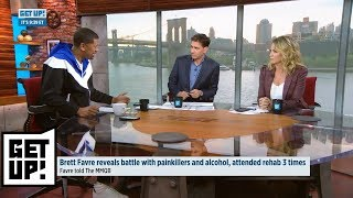 Get Up reacts to Brett Favre revealing battle with painkillers and alcohol | Get Up | ESPN