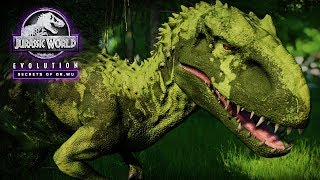 IT CAN CAMOUFLAGE! Indominus Rex Camouflage Gene Showcase   Jurassic World: Evolution New DLC