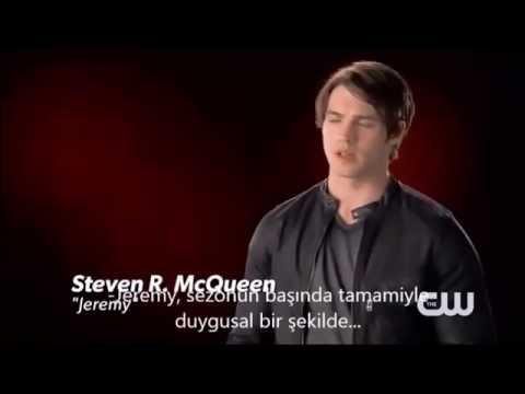 The Vampire Diaries   Steven R  McQueen  Interview TR Altyazılı