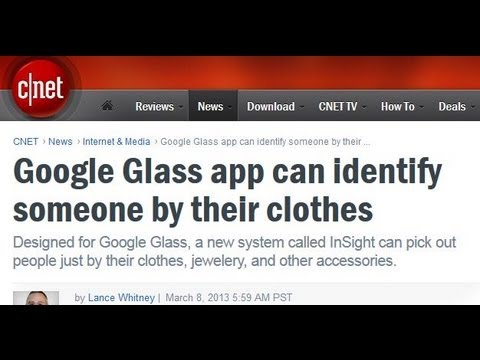 "Google Glass ""Stalking App"" Identifies Individuals in Large Crowds Once Targeted"