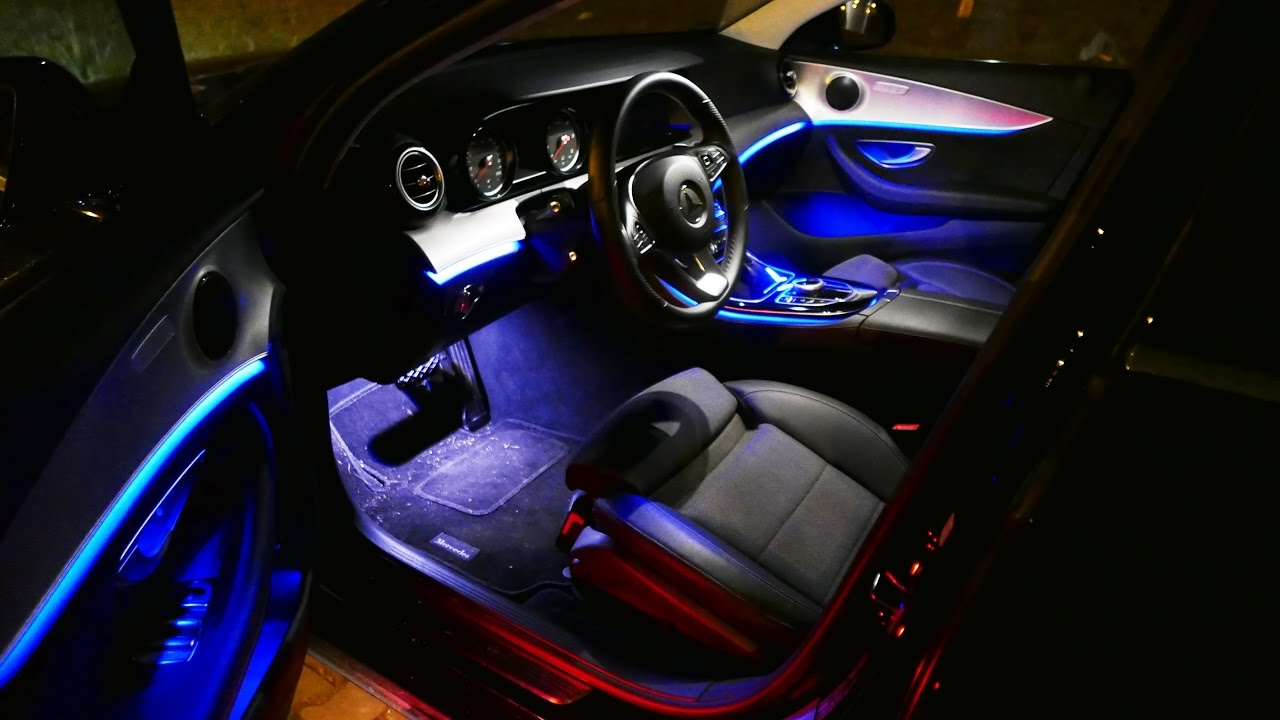 2016 Mercedes Benz E Class W213 Ambient Lighting Light