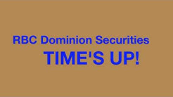 RBC Dominion Securities - TIME'S UP