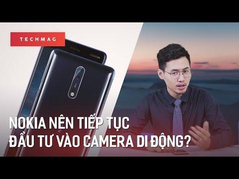 Vì sao Nokia nên tiếp tục đầu tư vào camera di động?