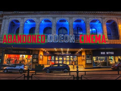 We Explore An Abandoned Odeon Cinema (Found Loads Of Movie Equipment)