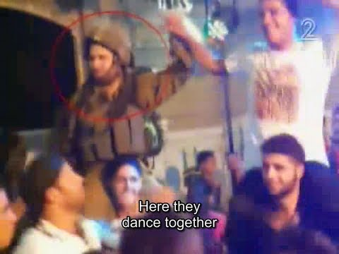 ITF soldiers of Givati brigade dancing Gangnam Style in Hebron/al-Khalil