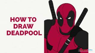 How to Draw Deadpool in a Few Easy Steps: Drawing Tutorial for Kids and Beginners
