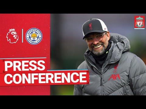 Jürgen Klopp's pre-match press conference   Leicester City