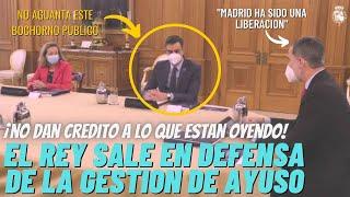 """La frase del Rey Felipe a Sánchez y Calvo que ha hundido al Gobierno """"MADRID HA SIDO UNA LIBERACIÓN"""""""
