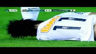 Neymar Fantastic New Trick Hocuspocus Santos vs Catanduvense 5 0 15 04 2012 720p      YouTube