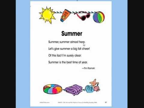Short poem about summer.