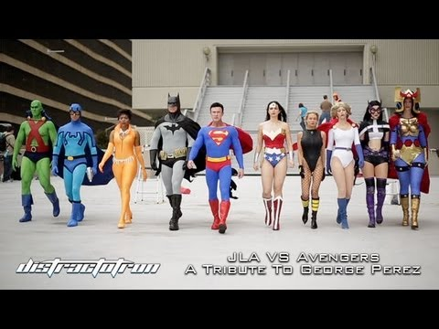 JLA VS Avengers: A Tribute to George Pérez (Dragon Con 2013)