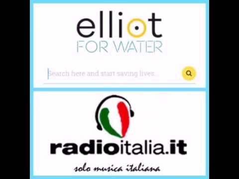 Radio Italia su Elliot For Water