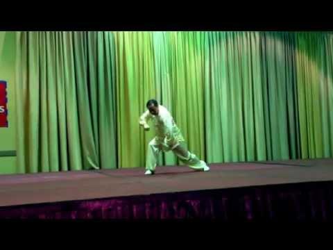 Master Jia WuZong Internal Wushu Show XingYi - Bagua - Chen Taji