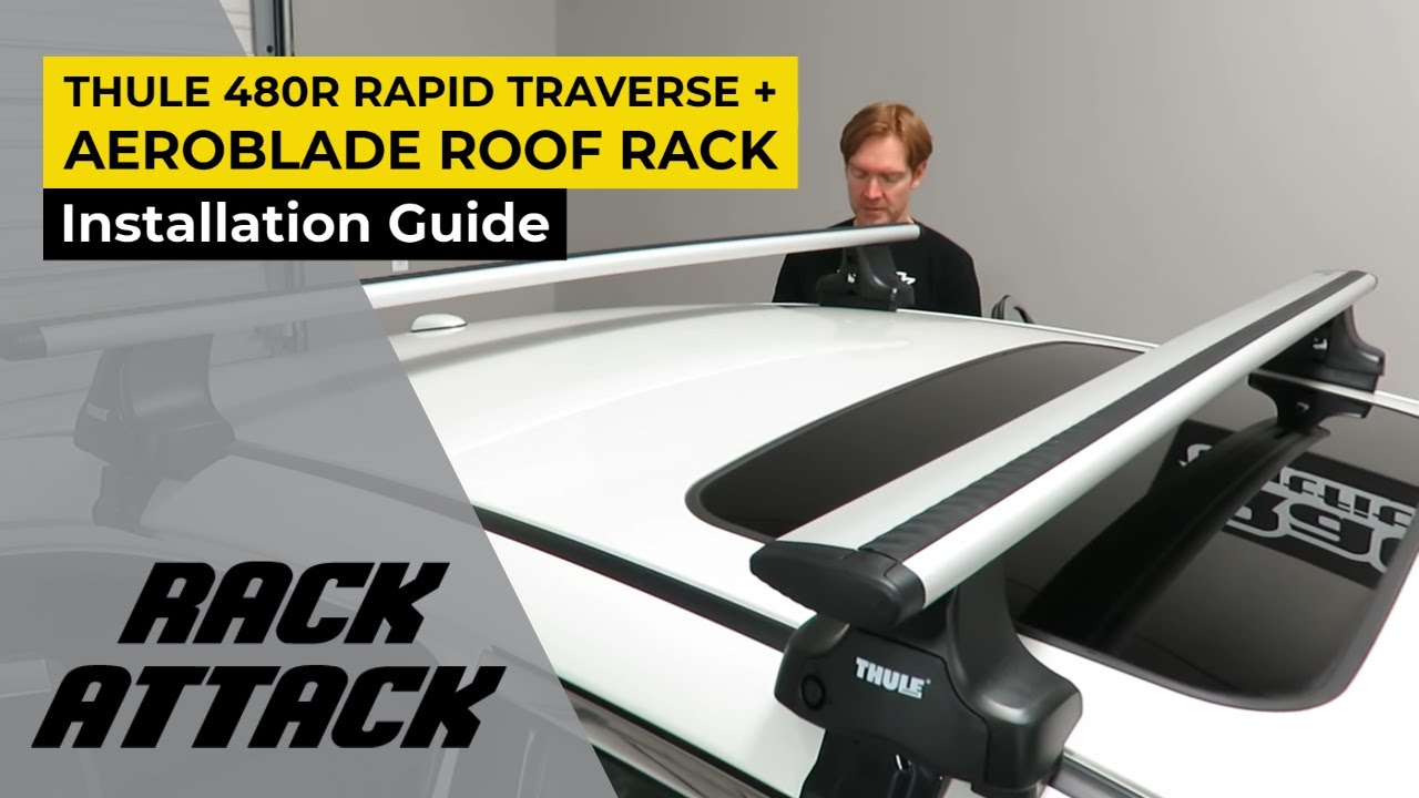 How To Install The Thule 480r Rapid Traverse Aeroblade